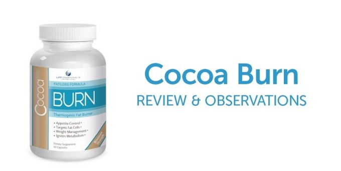 Cocoa Burn Diet