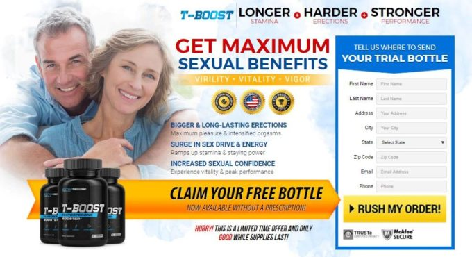 T-Boost Testosterone Booster