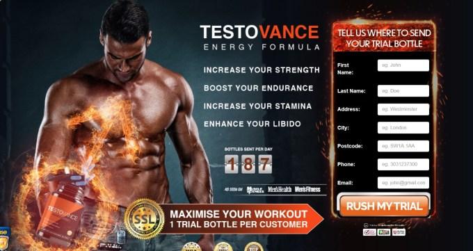 TestoVance Energy Formula