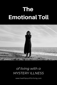 The emotional toll of living with a mystery illness. An undiagnosed autoimmune disorder is a difficult puzzle to put together and has emotional ramifications.