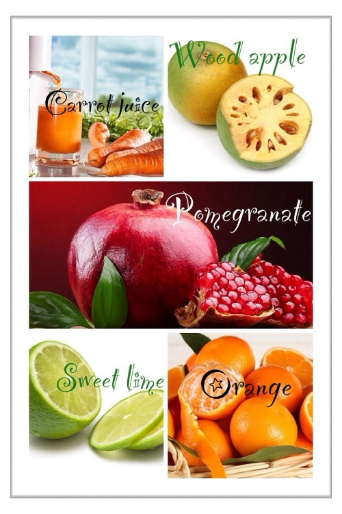 Food which helps to enhance health after treatment