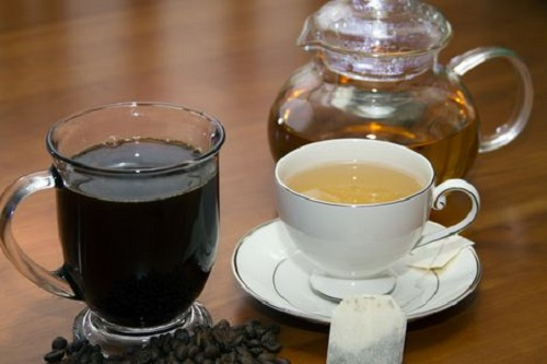Consume Green Tea or Coffee an Hour before Working Out