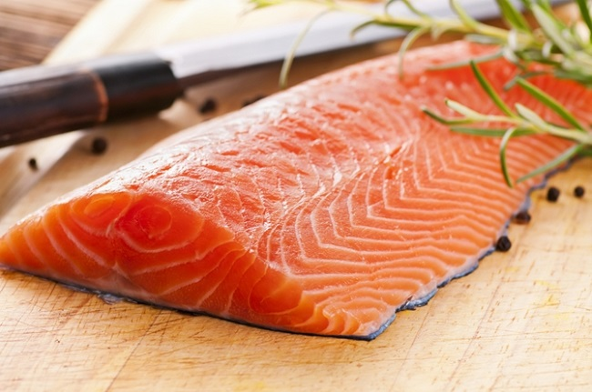 Eat healthy fats from fatty fish images