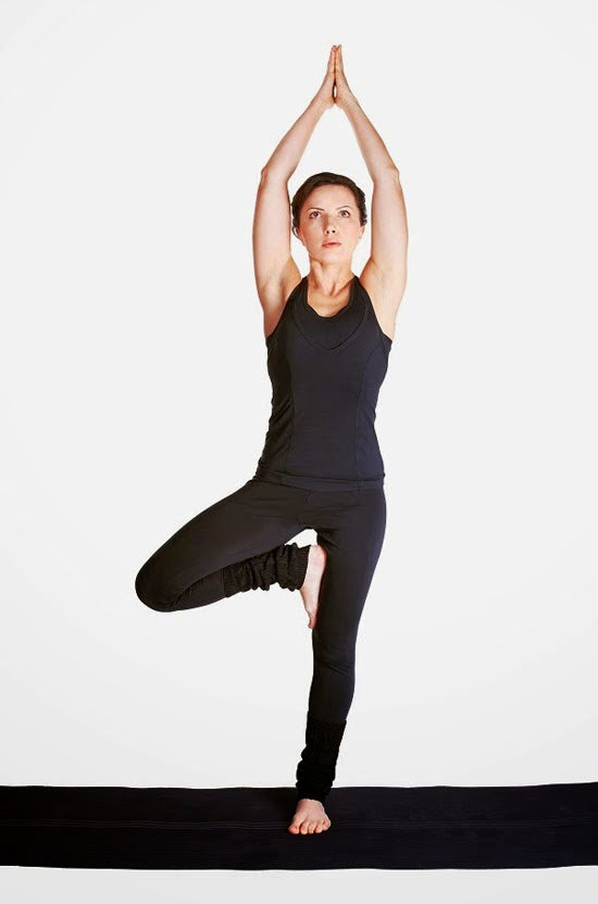 Tadasana, tree pose