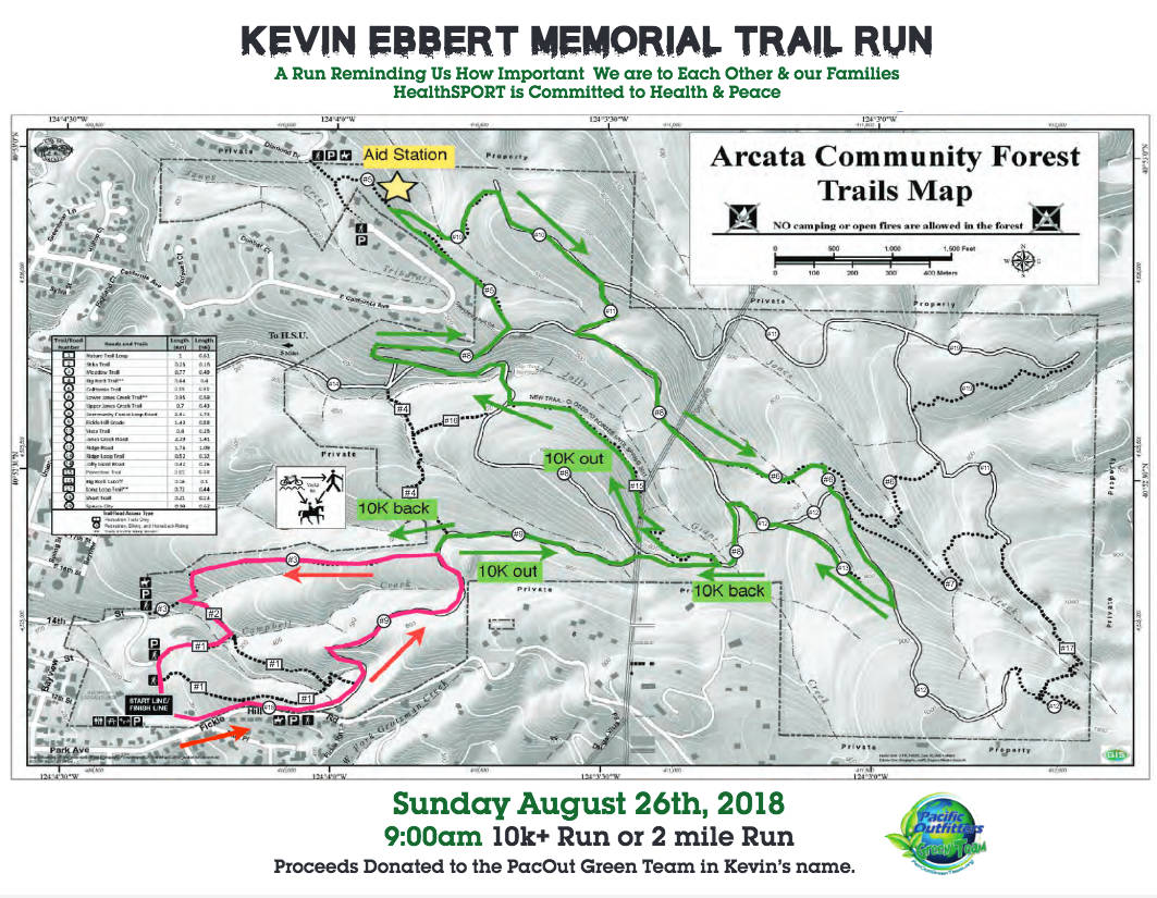 Kevin Ebbert Memorial Trail Run