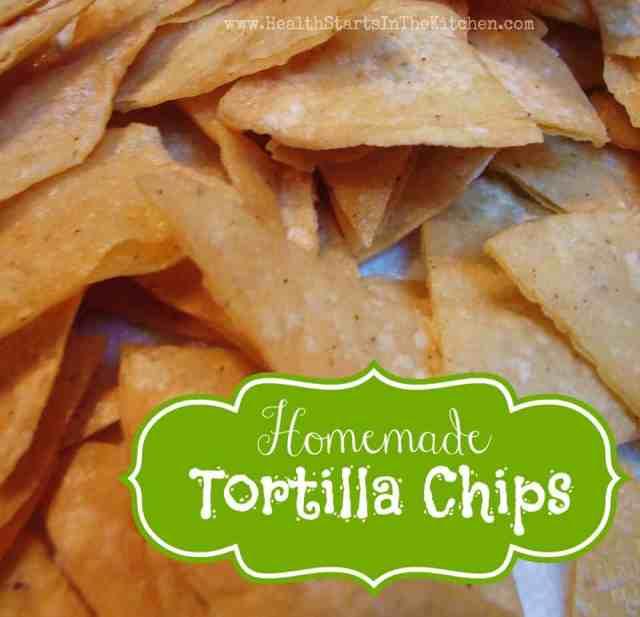 'Junk Foods' Homemade Corn Tortilla Chips — Health Starts in the Kitchen