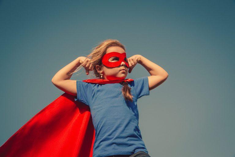 Positivity is my super power