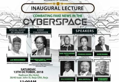 Guild Of Bloggers Felicitates with Nigerians, hosts Lecture on Fake News