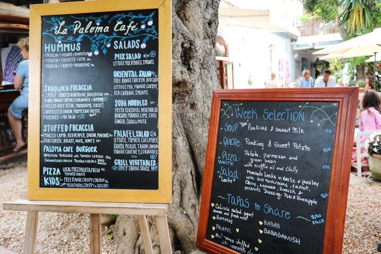 Ibiza_eten_la_paloma_menukaart