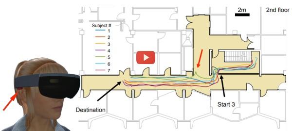 AR Helps Blind Navigate [video]