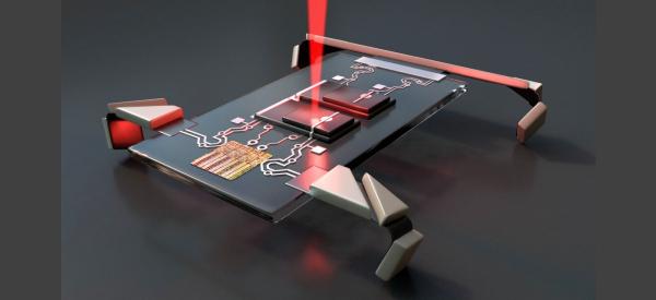 New Tiny Robots Walk on Four Legs