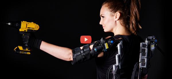 Lift Tools All Day with New Passive Exoskeleton [video]