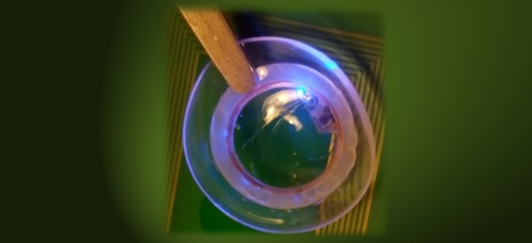 Hydrogel Used for Smart Contact Lenses