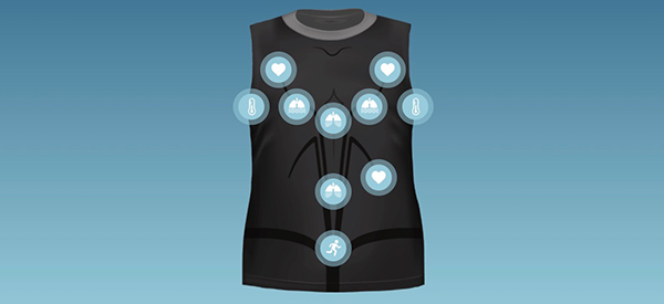 Smart Shirt Offers Remote Health Monitoring