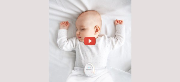 Baby Breathing Monitor Vibrates and Alerts [video]