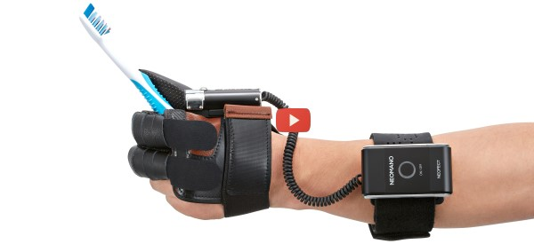 Powered Glove Helps Stroke Victims [video]
