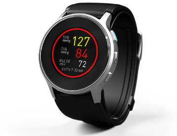 Omron to Debut Oscillometric Blood Pressure Watch