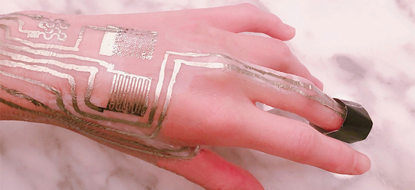 New Flexible Sensor Is Printed Directly onto Skin