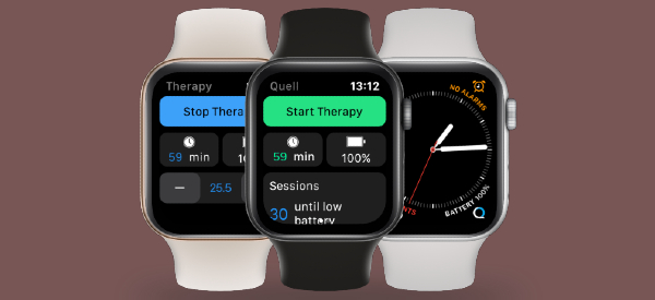 New App Lets Apple Watch Control Pain Relief