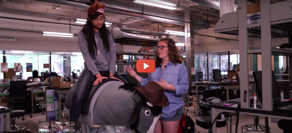 Robotic Horse Provides Neurological and Movement Therapy [video]