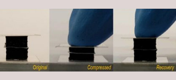 3D Printed Compressible Batteries Empower Flexible Wearables
