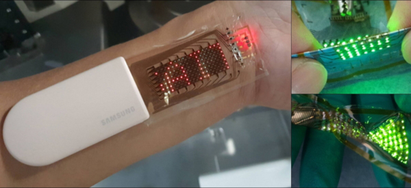 New Smart Skin Includes Sensor and a Display