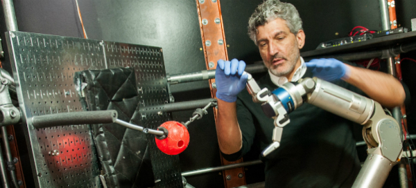 Amputees Control Robotic Arm with Minds