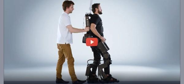Exoskeleton Tech Takes Giant Step to Natural Walking [video]