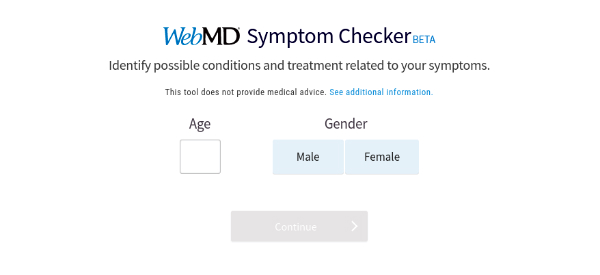 Popular Medical Site Redesigns Symptom Checker Interface