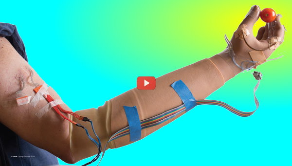 Prosthetic Hand Restores Sense of Touch [video]