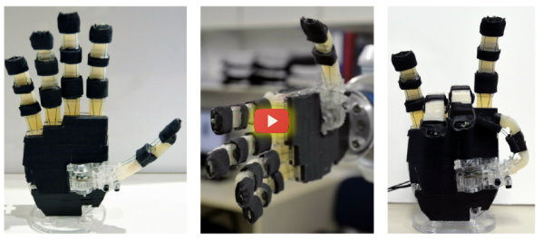Open Source Robotic Hands [video]