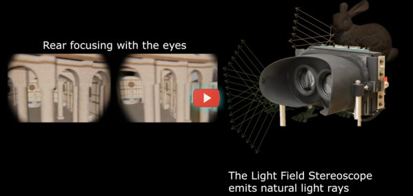 Stanford VR lightfield