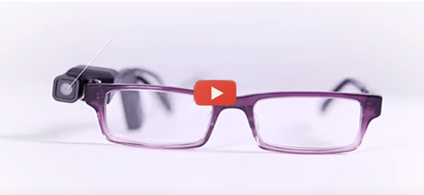 Camera for Glasses Aids Low-Vision Users [video]