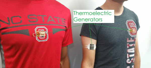 Charging Wearable Batteries With Human Body Heat