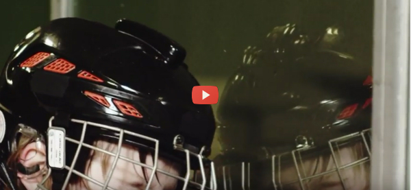 Helmet-Mounted Sensor Measures Impacts [video]