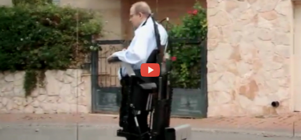 Stand-up Wheelchair Gives Users a Lift [video]
