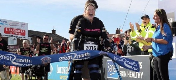 Paralyzed and Pregnant, Woman Completes Half-Marathon