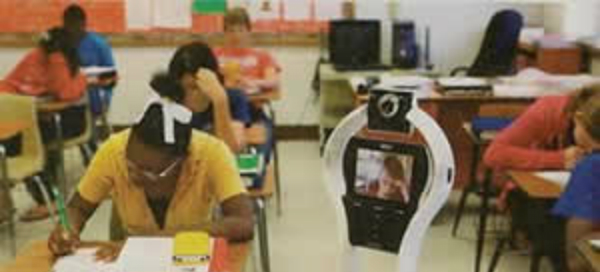 "VGo Remote Student Robot Lets Homebound Students ""Attend"" School"
