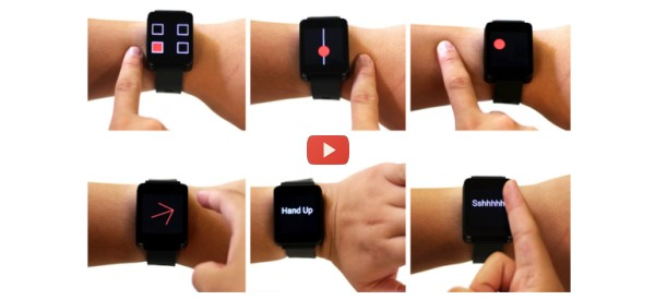 Control Wearables without Touching Them [video]