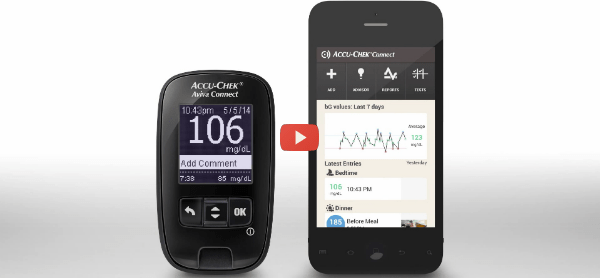 Accu-Chek Connect Aids Diabetes Care and Management [video]