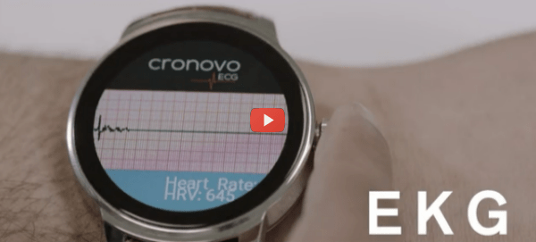 Cronovo Smart Watch, A Noah's Ark Health And Fitness Wearable [video]