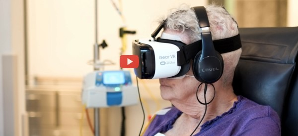 VR with chemo