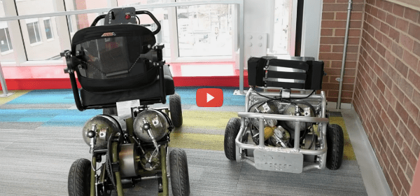 Waterproof Wheelchair Runs on Compressed Air [video]