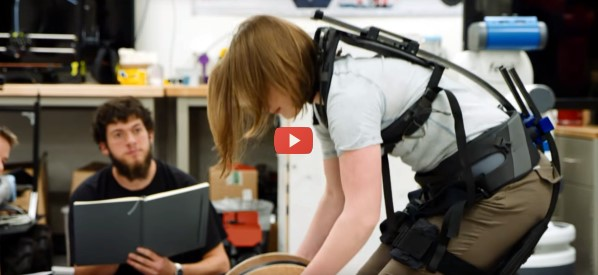 Big Box Stores to Save Backs with Exosuit [video]