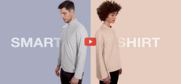 Smart Shirt Goes Beyond Health Data [video]