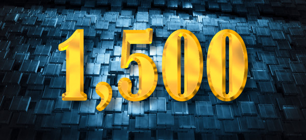 Milestone: 1,500 Posts
