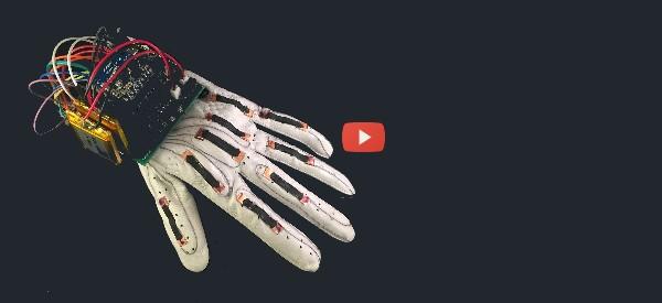 Smart Glove Translates ASL Spelling [video]