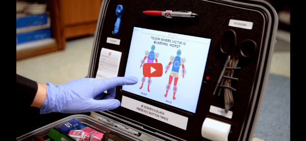 Smart First Aid Kit Empowers Emergency Bystanders [video]