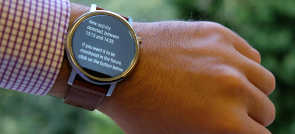 Smartwatch Monitors All Movement