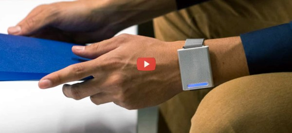 Thermal Wristband Heats and Cools [video]